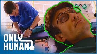 Man Has Crushed Nail Removed | Nurses | Only Human