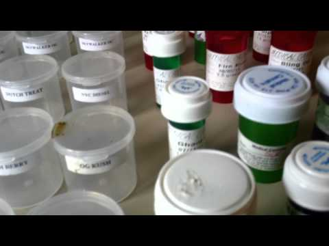My Medical Marijuana container collection