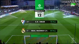 La Liga 22 11 2014 Eibar vs Real Madrid - HD - Full Match - 1ST - Spanish Commentary