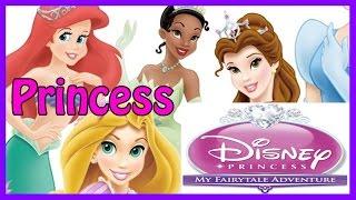Disney Princess Movies Game for Kids - ALL Disney Princesses - Ariel, Rapunzel, Cinderella