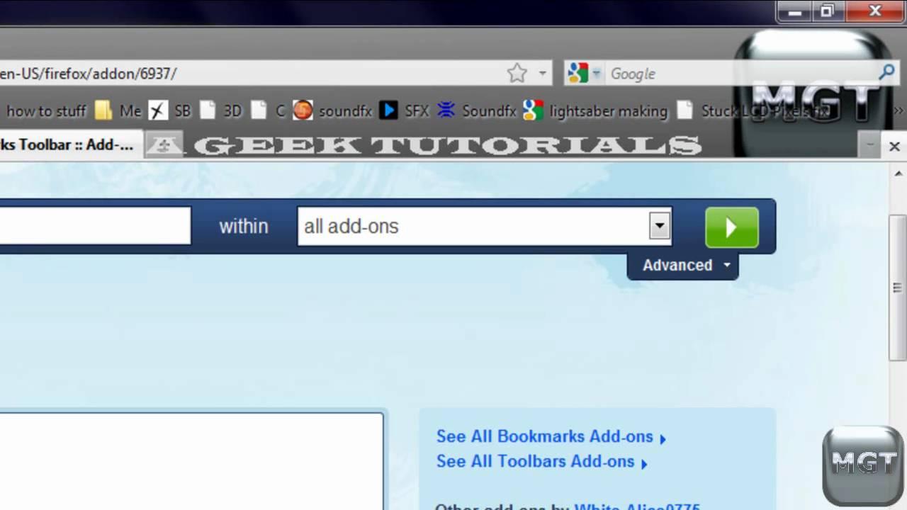 FireFox Tips&Tricks: Multi-row Bookmarks Toolbar