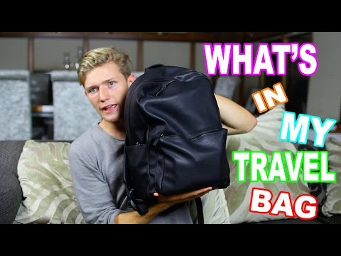 WHAT IS IN MY TRAVEL BAG?!! BRAZIL
