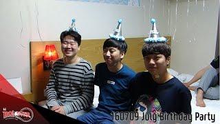 160709 kt Rolster LoL팀 7월 생일파티!