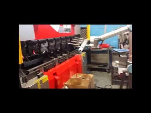 UR10 4 PCS Bending Opration at Bridge metal industries