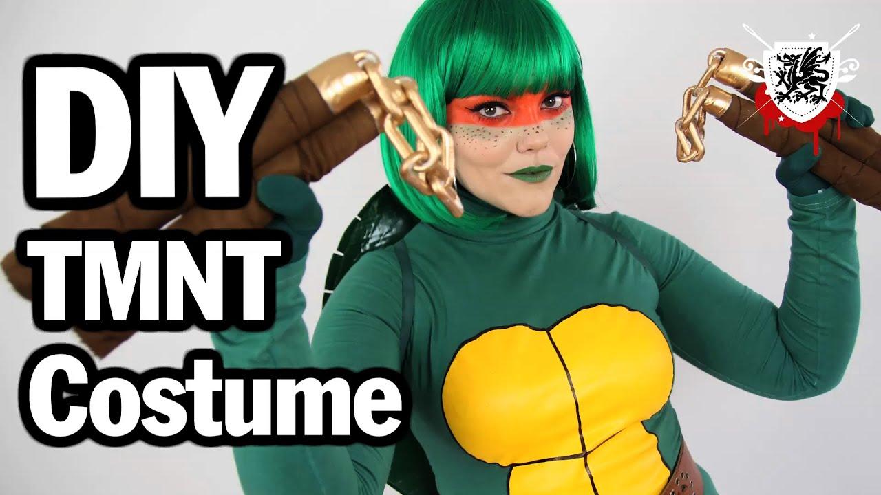 Diy tmnt costume threadbanger cosplay youtube solutioingenieria Gallery