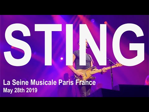 STING Live Full Concert 4K @ La Seine Musicale Paris France May 28th 2019 My Songs Tour 2019