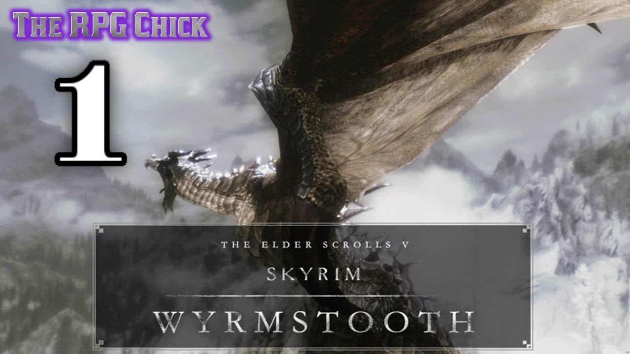 Let's Play Wyrmstooth (Skyrim Mega-Mod - Blind), Part 1: A Slippery  Dragon?!?
