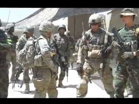 Army high-value target raid in Afghanistan