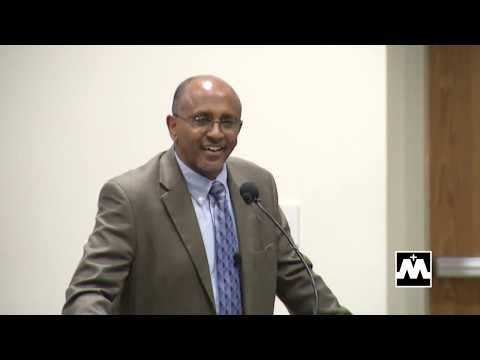Tamrat Layne, Former Prime Minister of Ethiopia, Visits Mary