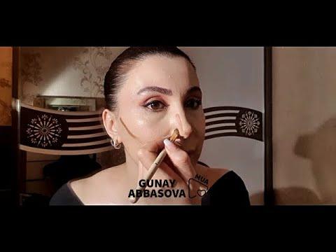 Makiyaj dersleri - Gunay Abbasova (Ətraflı anlatım)