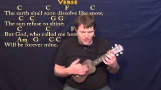 Amazing Grace - Ukulele Cover Lesson in C with Chords/Lyrics