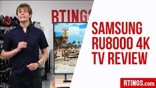 Samsung RU8000 4k TV Review - RTINGS.com