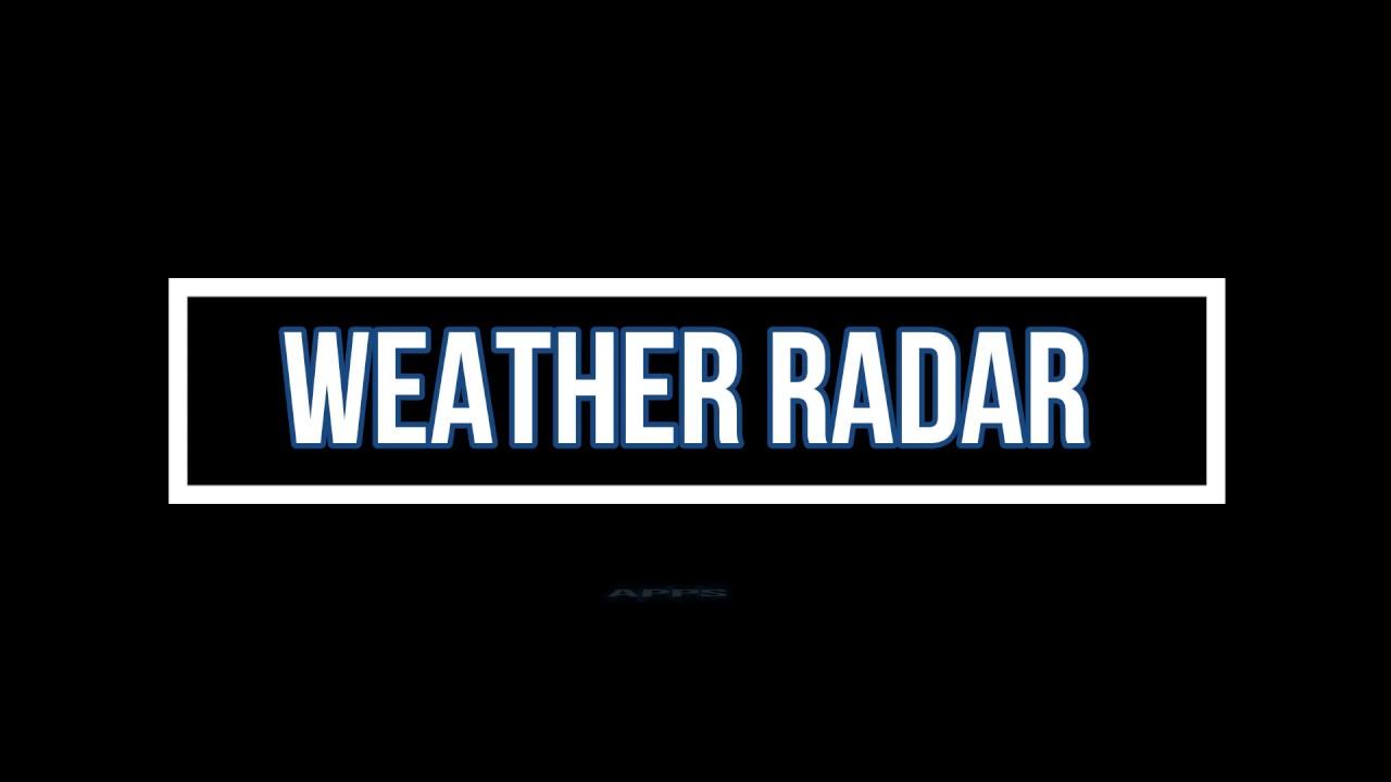 Introduction to weather radar App / My Radar APP – How To