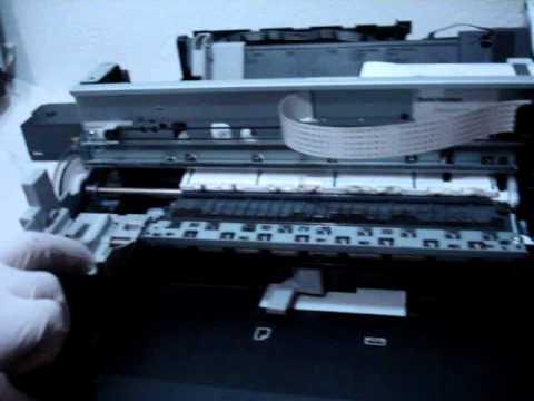 Componentes Impresora Canon Youtube
