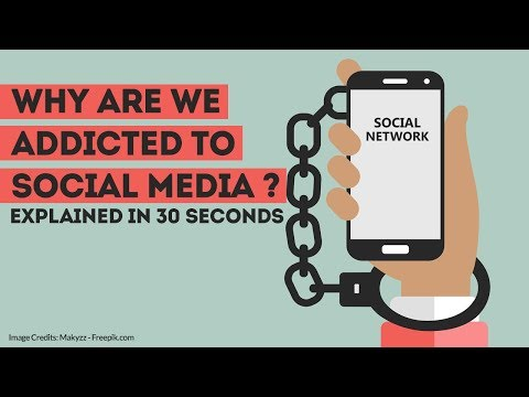 Why Are We Addicted to Social Media? | Explained in 30 Seconds