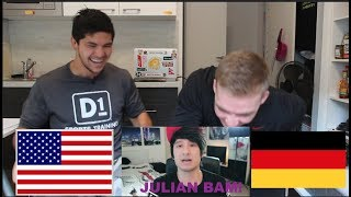 AMERICAN REACTS to GERMAN YOUTUBER *JULIAN BAM*