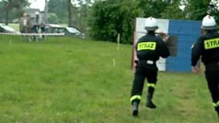 Gminne zawody sportowo-pożarnicze... OSP Wola Osińska  SZTAFETA 60.8sek