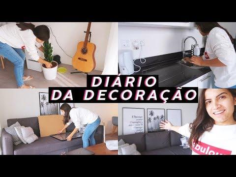 DIÁRIO DA DECORAÇÃO #4: banheiro novo, quadros, mudando e organizando tudo!