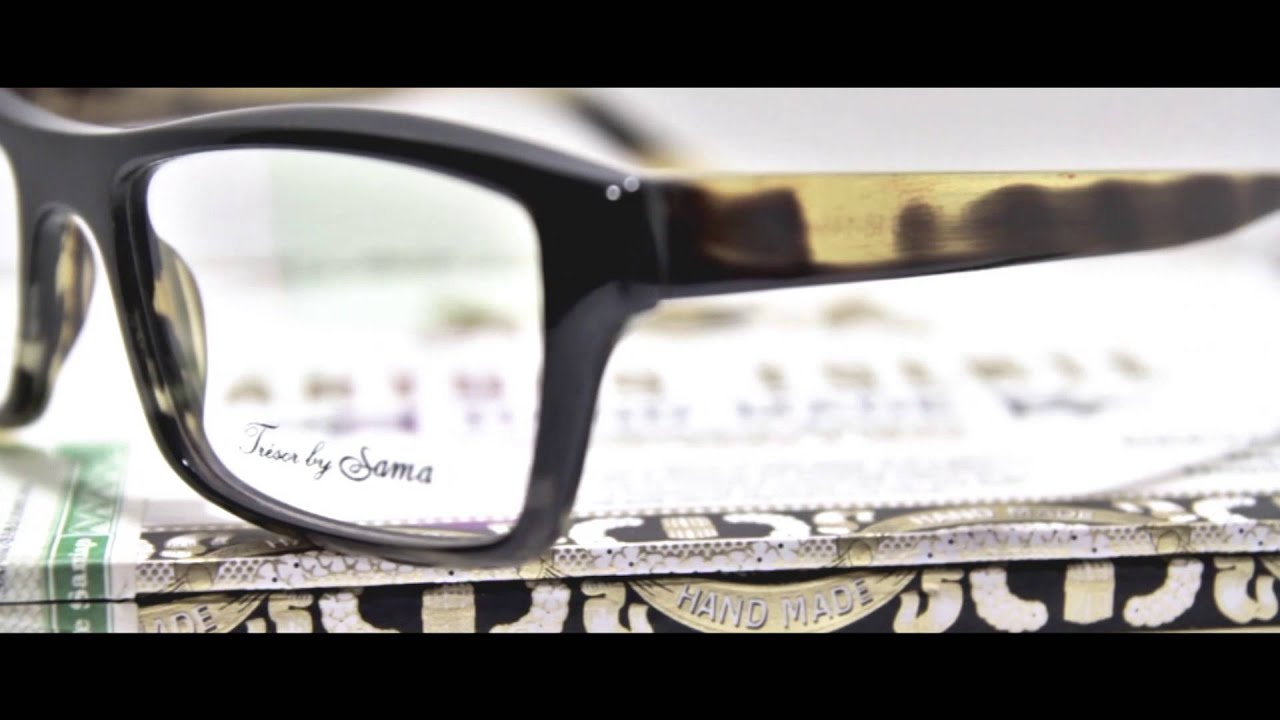 Tresor Sama Eyewear Collection - YouTube