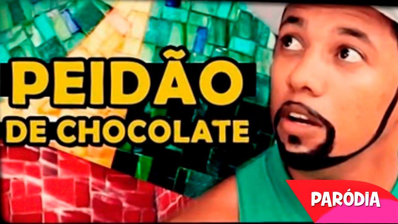 PEIDÃO DE CHOCOLATE | Paródia - Naldo Amor de Chocolate