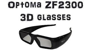 Unboxing and overview of the Optoma ZF2300 Active Shutter 3D glasses