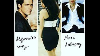 Alejandro Sanz Ftt Marc Anthony ( Deja que te bese ) Remix Dj Cristian
