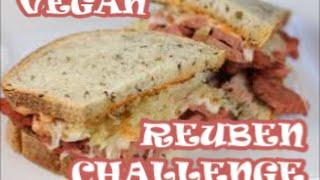 Vegan Reuben Showdown: Karyn's Cooked Vs Native Foods Cafe