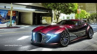 Bugatti Type 12-2 Streamliner Concept Design by RacerXDesign Videos