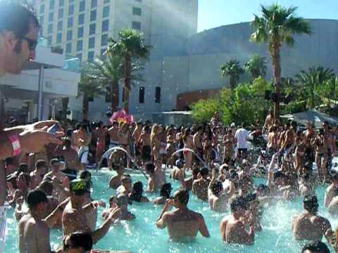 Casino pool party