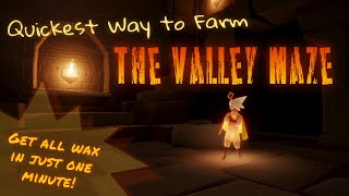 Quickest way to farm the Valley Maze in Sky: Children of the Light