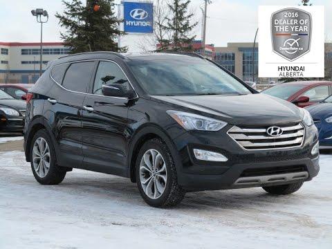 Hyundai Santa Fe Limited >> 2014 Hyundai Santa Fe Sport Limited 2.0T AWD Stk