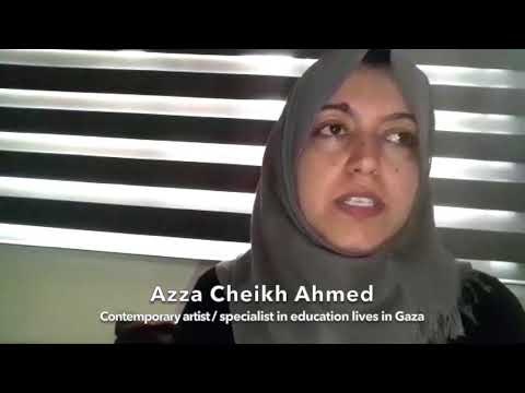 DREAM PALESTINE - 22 /23 - 05 - 2021- AZZA CHEIKH AHMED Contemporary Palestinian Artist