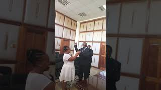vuclip Wedding Vows between Mr and Mrs Kimani
