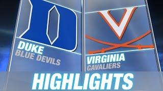 Duke vs Virginia | 2014-15 ACC Men