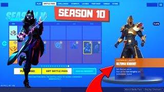 Fortnite Season 10 Battle Pass! (Fortnite Season X) My Reaction !!