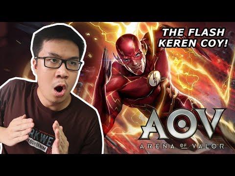 GILA THE FLASH KEREN BANGET! - Arena of Valor (Indonesia)