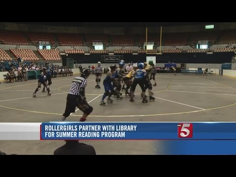Rollergirls Announce New Partnership With Nashville Public Library