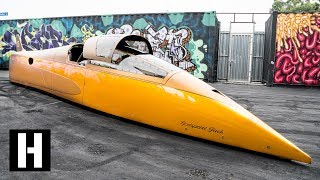 What has 2600HP and goes 460MPH? LS Powered Landspeed Record Crusher!