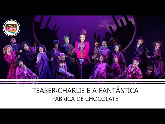 Teaser: 'Charlie e a Fantástica Fábrica de Chocolate'