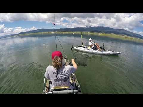 Kayak Fishing  Eagles Nest Lake  New Mexico