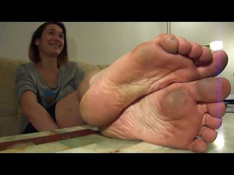 Pretty girl with dirty soles (size 7) from YouTube · Duration:  54 seconds