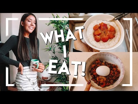REAL WHAT I EAT IN A DAY | EASY / HEALTHY FOOD IDEAS & HOW I LOST 40 LBS