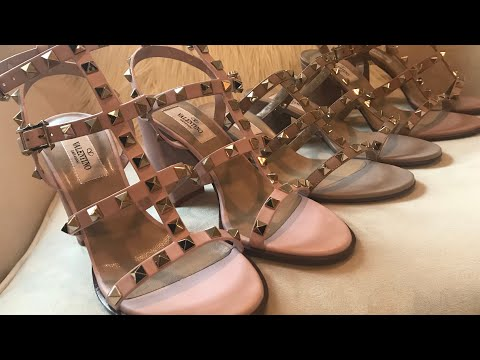 Valentino Garavani Rockstud Sandal Spring Summer Collection - Unboxing & Reviewиз YouTube · Длительность: 7 мин16 с