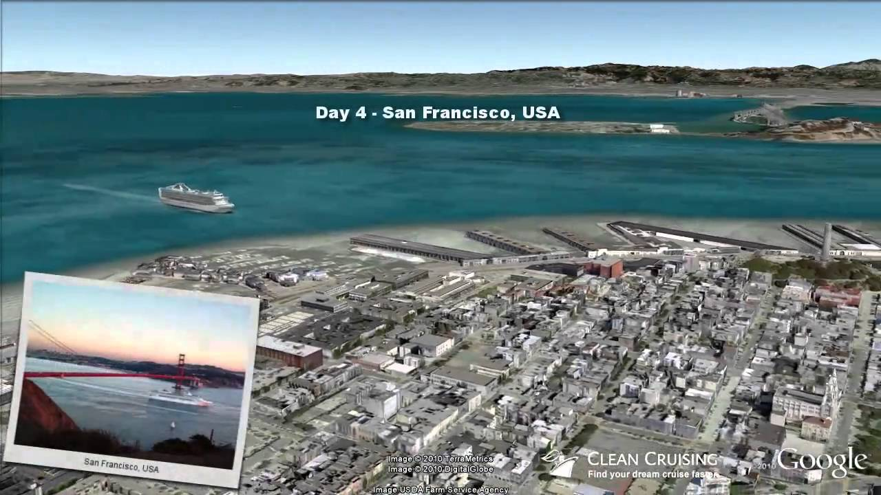 Sapphire Princess Video Nt California Coastal Cruise Ex Los - California coast cruises