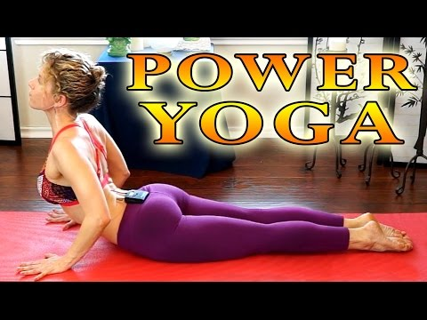 Power Yoga For Beginners - Total Body Workout for Weight Loss 30 Minute Yoga Class