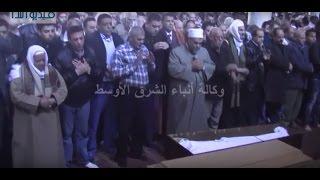 بالفيديو : صلاة الجنازة على جثمان الراحلة كريمة مختار بمسجد عمرو بن العاص