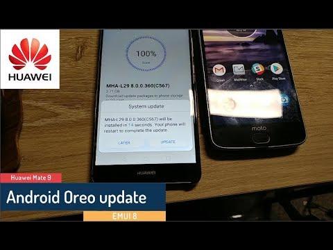 Android 8.0 Oreo Update For The Huawei Mate 9 - USA - OTA - MHA-L29 (C567)