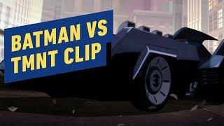 Batman vs. Teenage Mutant Ninja Turtles - Exclusive Batmobile Clip