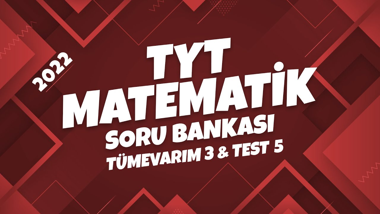 TYT Matematik Soru Bankası Tümevarım 3 Test 5