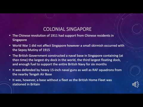 Post Colonial Singapore